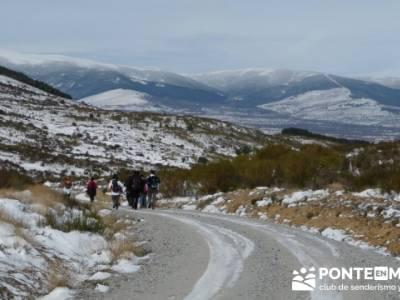 Valdemanco _ Buitrago del Lozoya - rutas de senderismo; viajes en grupo organizados
